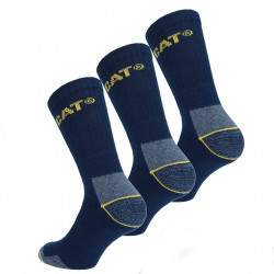 Caterpillar Cat munkavédelmi zokni - sötétkék - 3 pár