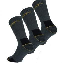 Caterpillar Cat munkavédelmi zokni - szürke - 3 pár