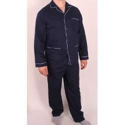 Diplomat WO501 férfi pizsama-sötétkék