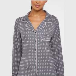 Dorina Esme pöttyös női pizsama felső