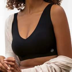 Dorina AirLite varrás nélküli melltartó - fekete