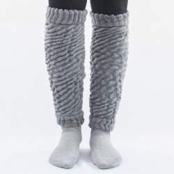 Dressa Aerobic női kötött lábszármelegítő - szürke