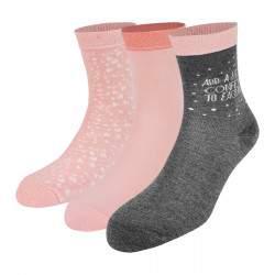 Dressa Bamboo avokádó olajos mintás női zokni - 3 pár