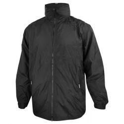 Dressa Basic bélelt kapucnis esőkabát széldzseki - fekete