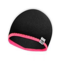 Dressa DRS kötött beanie sapka - fekete - rózsaszín