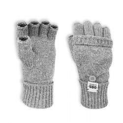 Dressa DRS lehajtható ujjú kesztyű - melírszürke