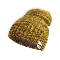 Dressa DRS polár bélésű kötött téli sapka - sárga - barna