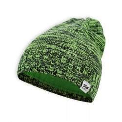 Dressa DRS polár bélésű kötött téli sapka - zöld - sötétkék