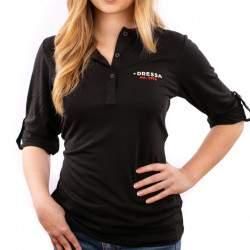 Dressa Collection női hosszú ujjú póló - fekete