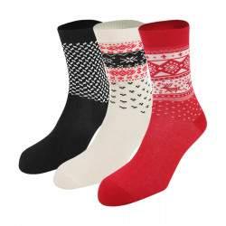 Dressa norvég mintás rénszarvasos zokni csomag - 3 pár