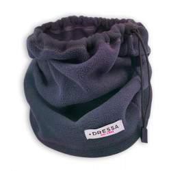 Dressa összehúzható polár nyakmelegítő - sötétkék