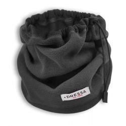 Dressa összehúzható polár nyakmelegítő - sötétszürke