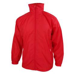 Dressa Vintage kapucnis széldzseki esőkabát - piros