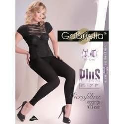 Gabriella 8375 Long 100 leggings - Plus Size