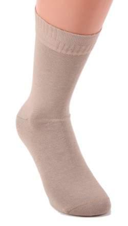 HDI ezüstszálas gumi nélküli zokni - drapp
