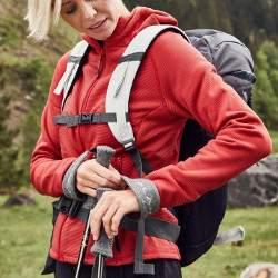 James & Nicholson JN 785 női kapucnis polár pulóver