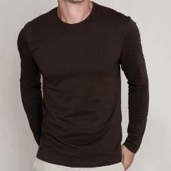 Kariban K359 férfi környakú hosszú ujjú póló