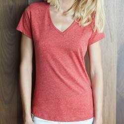 Kariban K387 női V-nyakú rövid ujjú póló