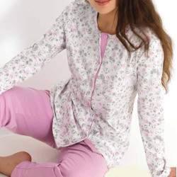 Linclalor 92009 női virágos pamut pizsama