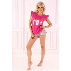 Livia Corsetti Lovely Unicorn 2312 egyszarvú mintás női rövidnadrágos pizsama