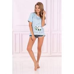 Livia Corsetti panda mintás női rövidnadrágos pizsama