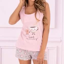 Livia Corsetti Small Sweet Cake pamut rövidnadrágos pizsama