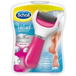 Scholl Velvet Smooth elektromos sarokreszelő - pink