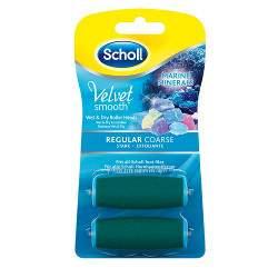 Scholl Velvet Smooth normál érdességű forgófejek tengeri ásványokkal