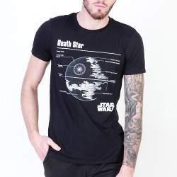 Star Wars Death Star férfi rövid ujjú póló