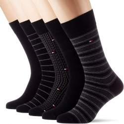 Tommy Hilfiger mintás zokni csomag - 5 pár