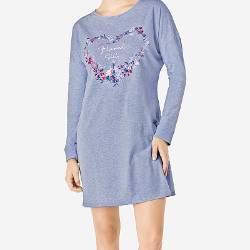 Triumph Nightdresses AW18 szív alakú virágmintás hálóing