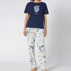 Triumph Sets PK 10 X mintás női pamut pizsama szett