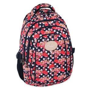 Budmil flamingó mintás hátizsák lányoknak - sötétkék