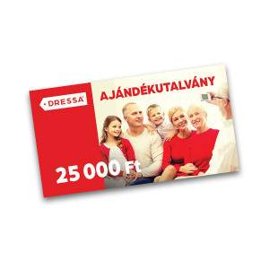 Dressa Ajándékutalvány - 25000 Ft