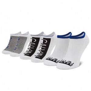 Calvin Klein férfi pamut titokzokni csomag - 3 pár - fehér