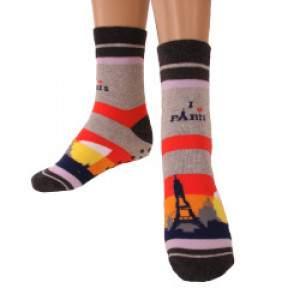 Ciocca 294/2A I love Paris női csúszásgátlós zokni