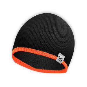 Dressa DRS kötött beanie sapka - fekete - narancssárga