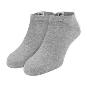 Dressa DRS rövid szárú pamut zokni csomag - szürke - 2 pár