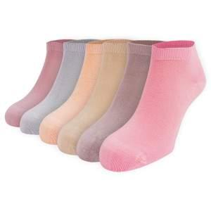 Dressa Modal rövid szárú színes női zokni csomag - 6 pár