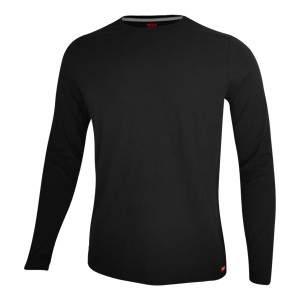 Dressa Premium hosszú ujjú környakú férfi pamut póló