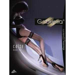 Gabriella 8775 Calze Kabarette 155 hátul csíkos necc combfix