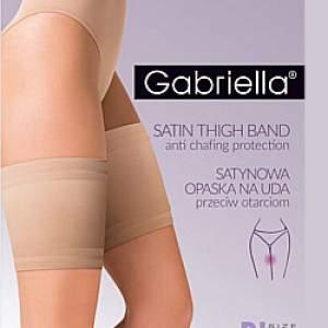 Gabriella 8800 Satin Thigh Band combvédő pánt