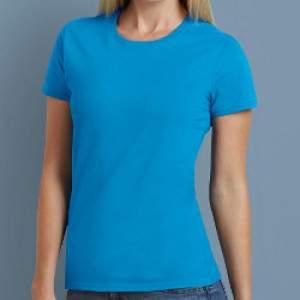 Gildan 4100L környakú női rövid ujjú póló