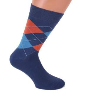 HDI Italia kárómintás zokni - férfi