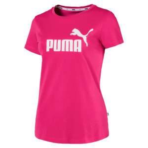 Puma ESS Logo Tee női póló - pink