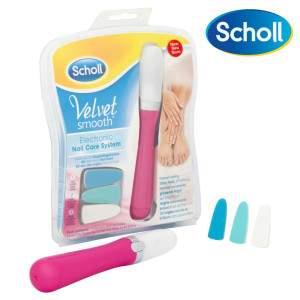 Scholl Velvet Smooth Pink Elektromos körömápoló készlet