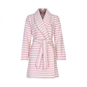 Triumph Robe csíkos frottír köntös - rózsaszín