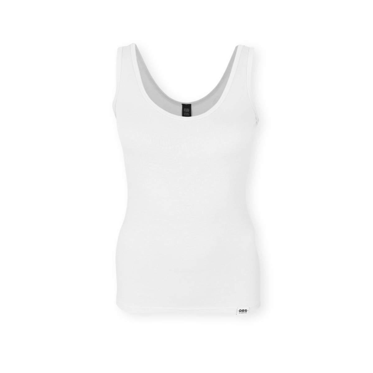 Dressa Fitness női stretch trikó - fehér