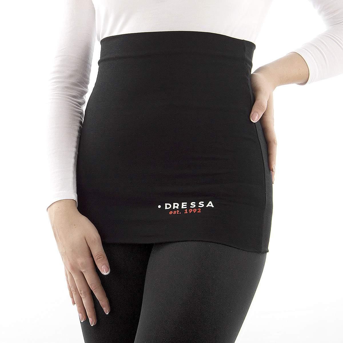 Dressa hosszú női derékmelegítő - fekete