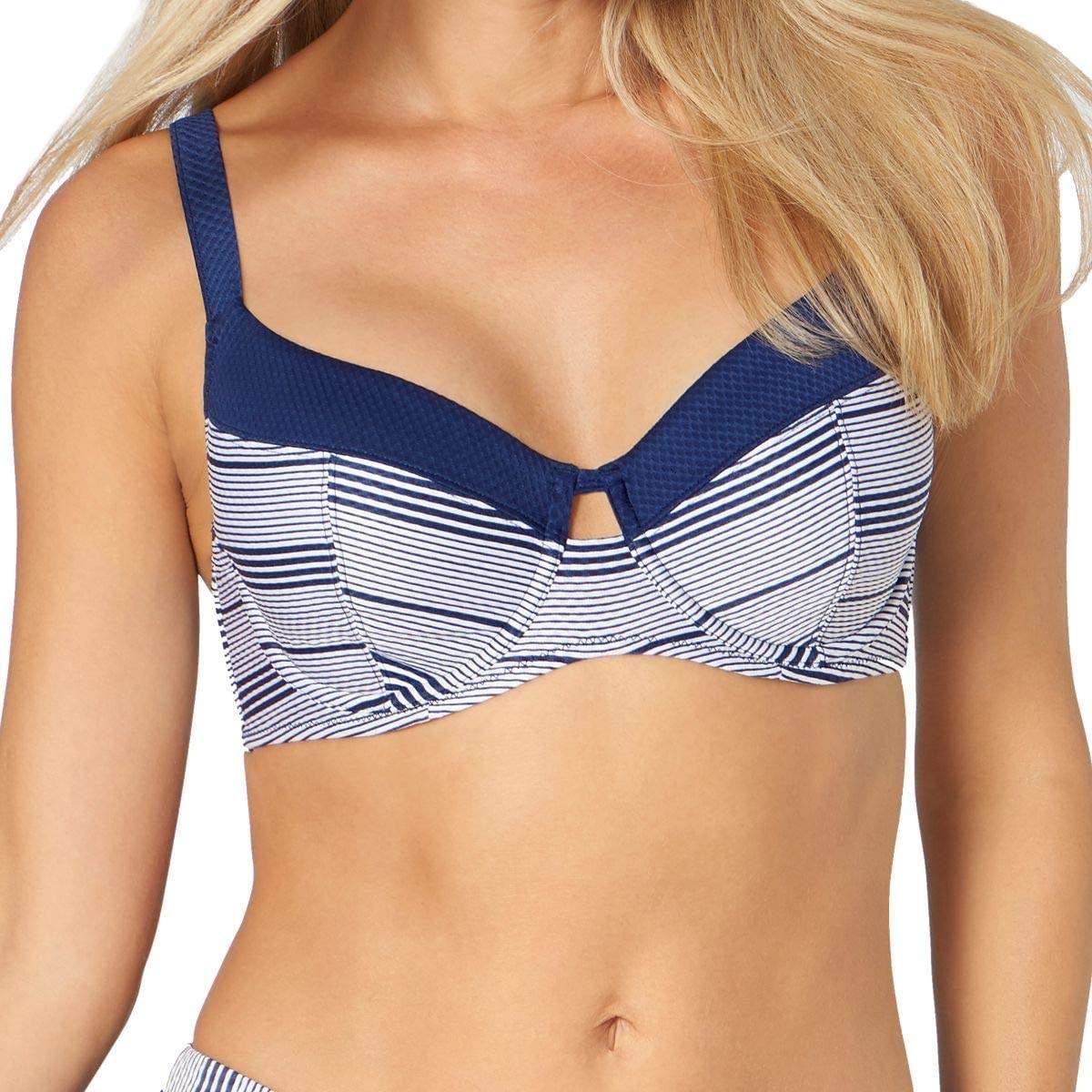 Triumph Summer Waves W csíkos merevítős bikini felső